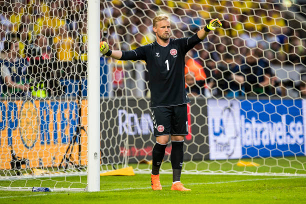 Schmeichel Sweden Denmark Friendly 2018