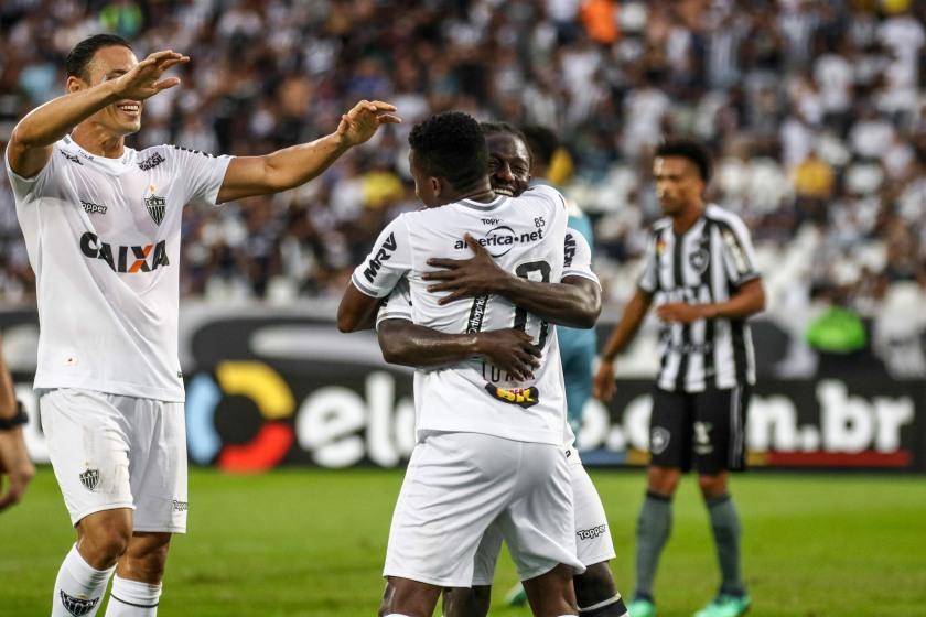 RIO DE JANEIRO / BRASIL 19.08.2018 Jogo entre Botafogo x Atlético no estádio Engenhão, pelo Brasileirão 2018 - Foto: Bruno Cantini / Atlético