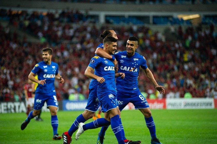 Cruzeiro - primeiro gol