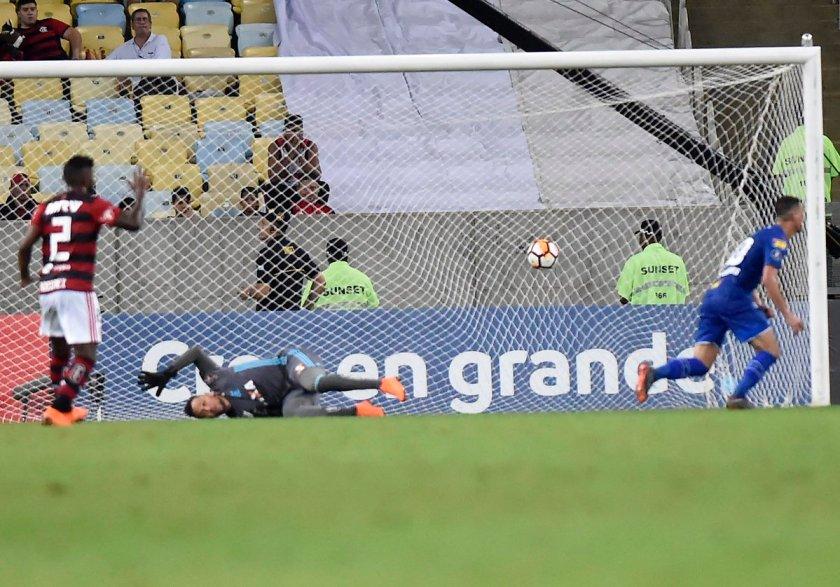 Cruzeiro - segundo gol