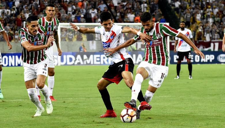 Fluminense-x-Nacional-Potosí-Sul-Americana-Maracanã